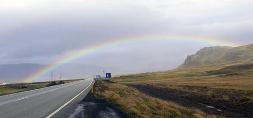 虹をくぐると・・・